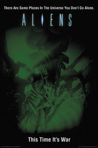 Aliens / The Abyss Movie Poster