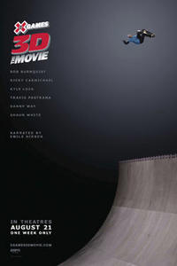 X Games 3D: The Movie Movie Poster
