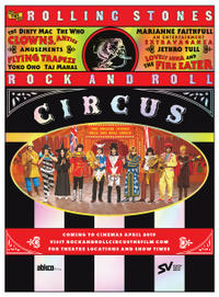 The Rolling Stones Rock and Roll Circus Movie Poster
