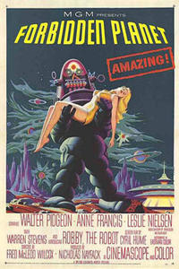 Forbidden Planet/ Fantastic Planet Movie Poster