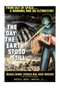 The Haunting / The Day the Earth Stood Still Movie Poster