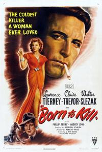 Born to Kill / Odds Against Tomorrow Movie Poster