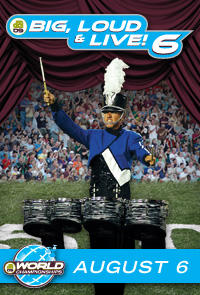 DCI 2009: Big, Loud & Live 6 Movie Poster