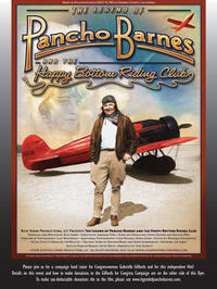 The Legend of Pancho Barnes and the Happy Bottom Riding Club Movie Poster