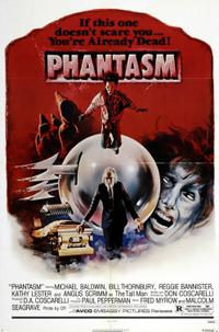 Phantasm 1, 2, & 3 Movie Poster