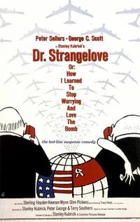 A Clockwork Orange / Dr. Strangelove Or: How I Learned to Stop Worrying and Love the Bomb Movie Poster