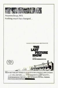 The Last Picture Show / They All Laughed Movie Poster