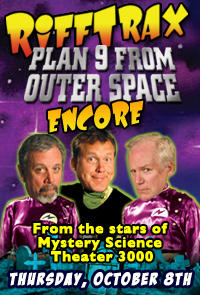 RiffTrax: Plan 9 from Outer Space ENCORE Movie Poster
