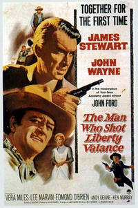 The Man Who Shot Liberty Valance / Winchester '73 Movie Poster