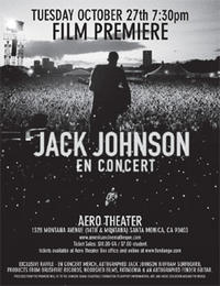 Jack Johnson: En Concert Movie Poster