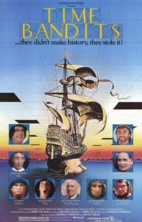 The Adventures of Baron Munchausen / Time Bandits Movie Poster