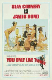 Dr. No / You Only Live Twice Movie Poster