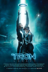 Tron: Legacy: An IMAX 3D Experience Movie Poster
