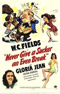 Never Give a Sucker an Even Break / Man on the Flying Trapeze Movie Poster