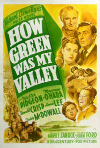 The Quiet Man / How Green Was My Valley Movie Poster