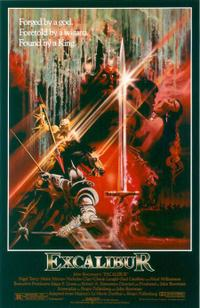 Excalibur / Knightriders Movie Poster