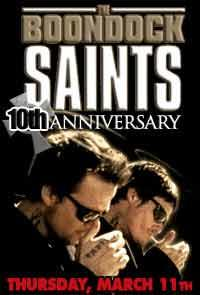 The Boondock Saints 10th Anniversary Event Movie Poster