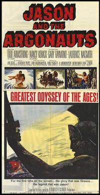 Jason and the Argonauts / Jack the Giant Killer Movie Poster