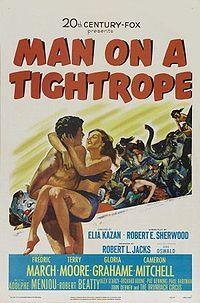 Man on a Tightrope / On the Waterfront Movie Poster