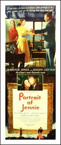 Portrait Of Jennie / Love Letters Movie Poster