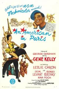 An American In Paris / The Young Girls of Rochefort Movie Poster