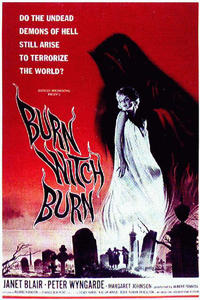 The Intruder / Burn, Witch, Burn Movie Poster