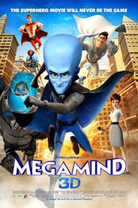 Megamind 3D Movie Poster