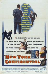 New York Confidential / Human Desire Movie Poster