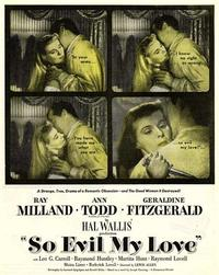 So Evil My Love / Experiment Perilous Movie Poster