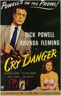 Cry Danger / Tight Spot Movie Poster