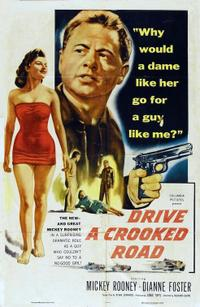 Drive a Crooked Road / Walk a Crooked Mile Movie Poster