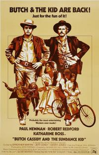 Butch Cassidy and the Sundance Kid / Tell Them Wille Boy is Here Movie Poster