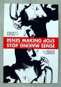 Stop Making Sense / The Last Waltz Movie Poster