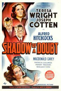 Shadow of a Doubt / Stage Fright Movie Poster