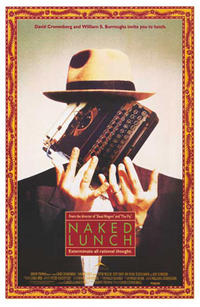 Naked Lunch / The New Age Movie Poster