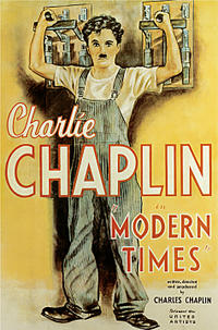 Modern Times / A King In New York Movie Poster