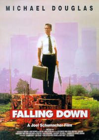 Falling Down / Flatliners Movie Poster
