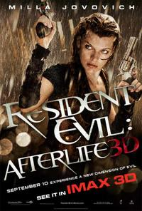 Resident Evil: Afterlife: An IMAX 3D Experience Movie Poster