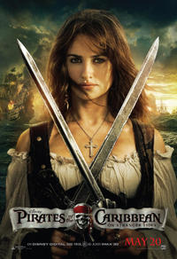 Pirates of the Caribbean: On Stranger Tides 3D Movie Poster