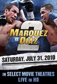Marquez vs. Diaz II Fight Live Movie Poster