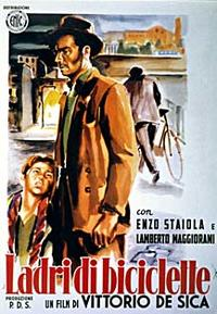 Bicycle Thieves / Umberto D Movie Poster