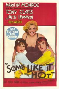 Some Like It Hot / Avanti! Movie Poster