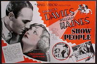 Art Deco Lecture / Show People Movie Poster