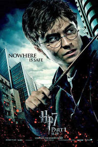 Harry Potter and the Deathly Hallows Part 1: The IMAX Experience Movie Poster