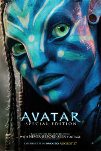Avatar: Special Edition: An IMAX 3D Experience Movie Poster