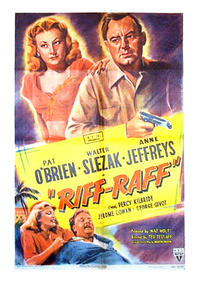 Trail Street / Riffraff Movie Poster