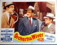 Orchestra Wives / Washington Melodrama Movie Poster