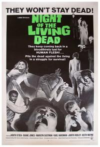 Night Of The Living Dead / Zombie Movie Poster