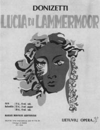 The Metropolitan Opera: Lucia di Lammermoor Movie Poster