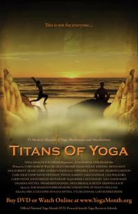 Titans of Yoga Movie Poster